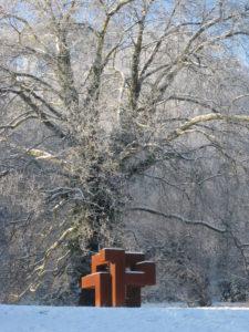 Rubicube_Chantoir_des_lepiotes_sculpture_sous_la_neige